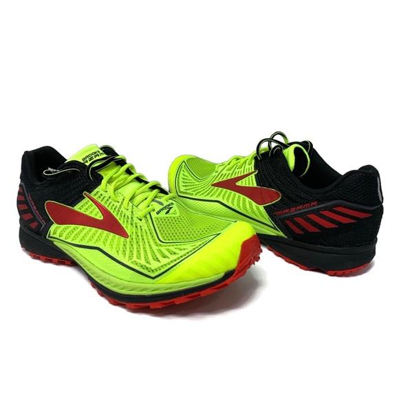 the latest 51cc5 25fb7 Brooks Mazama Men's Trail Running Shoes Volt